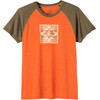 Prana M's Red Rocks Zen Shirt Cayenne